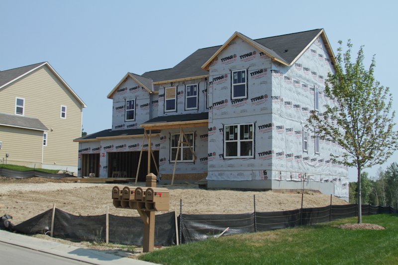 New large Home in Construction