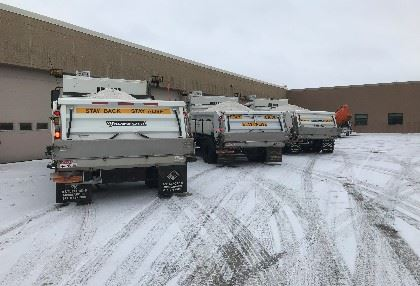 Snow Plows Lined Up
