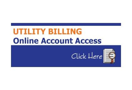 UTILITY BILLING ONLINE ACCOUNT ACCESS