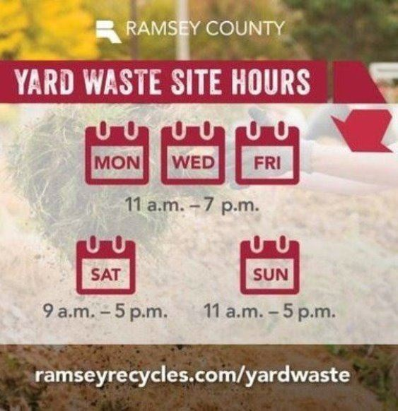 Yard waste hours
