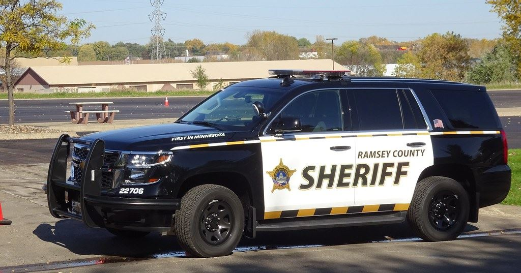 Ramsey County Sheriff Vehicle