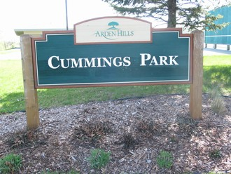 Cummings Park Sign