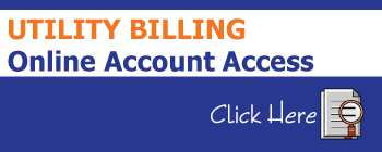 Utility Billing Online Account Access Button